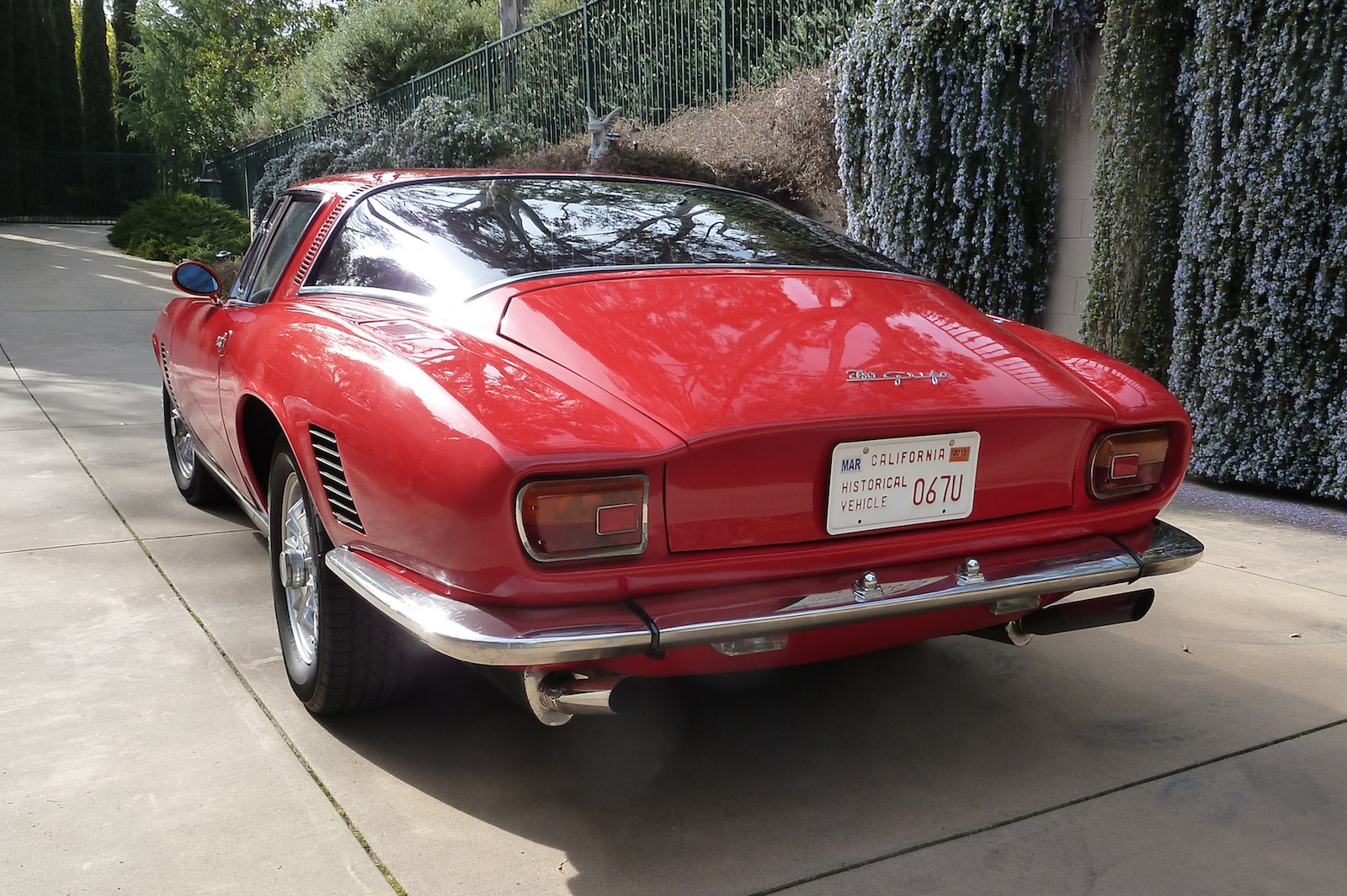 Iso grifo for sale for Grifo exterior