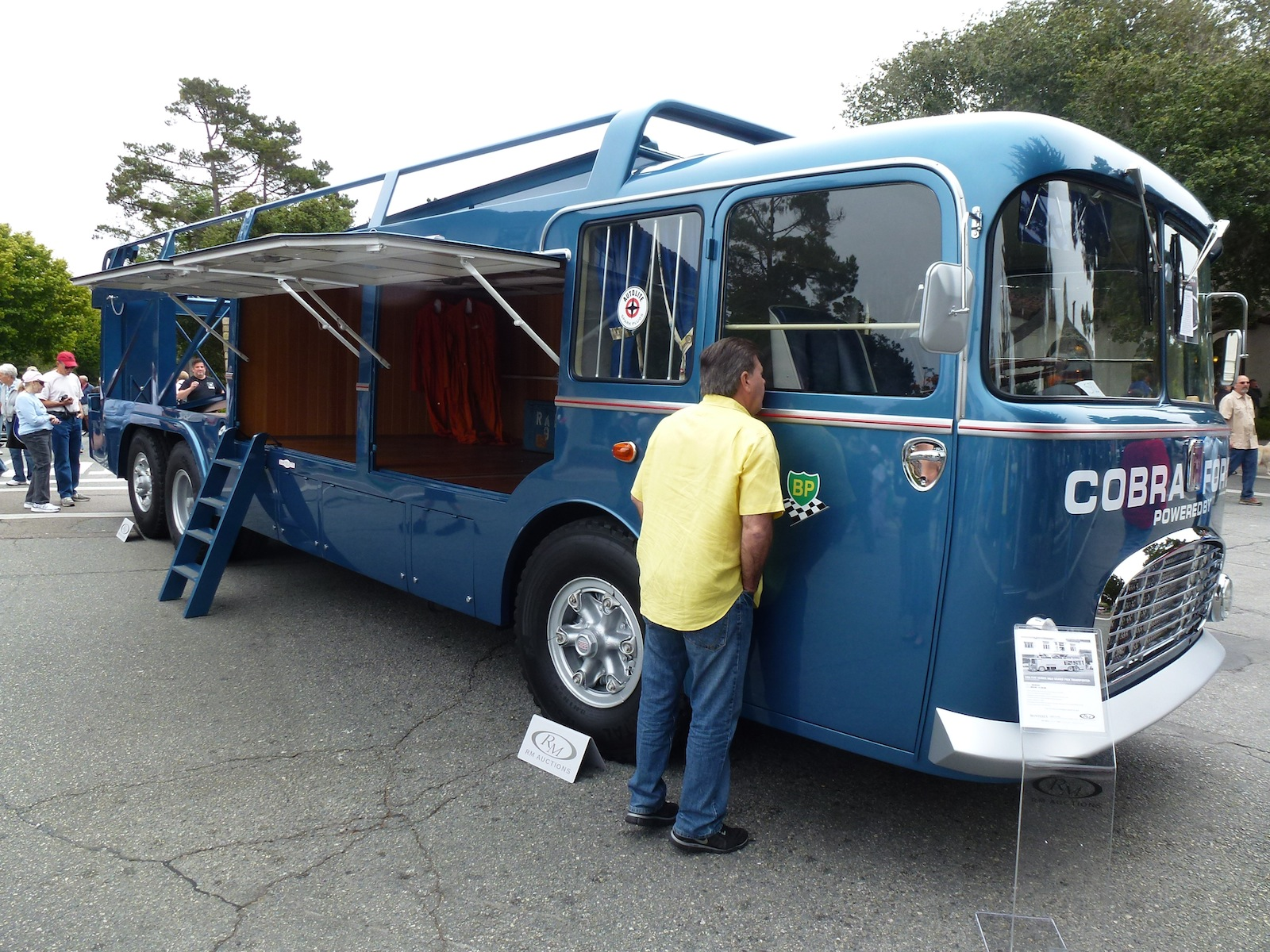 A Famous Race Car Transporter In Carmel