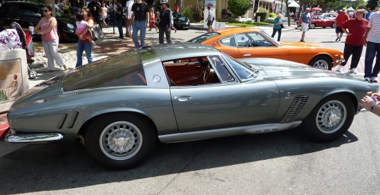 Iso Grifo A3/L Prototype side view