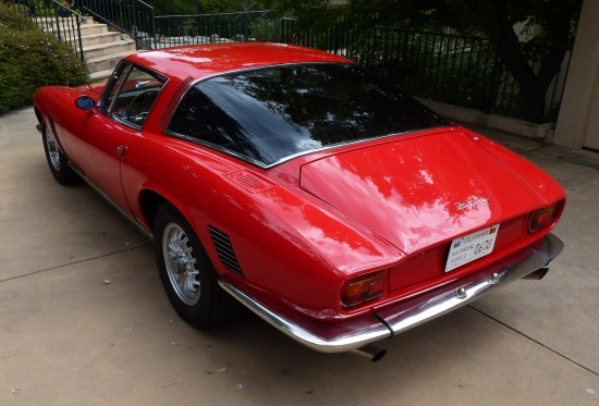 Iso Grifo rear view