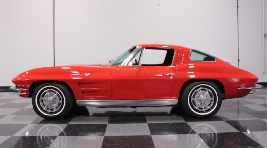 Car of the day classic car for sale 1963 chevrolet for 1964 corvette split window coupe