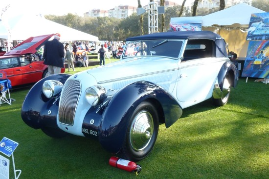 1938 Talbot-Darracq T23 Drop Head Coupe