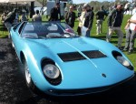 The Only Lamborghini Miura Roadster At Amelia Island – Or Anywhere