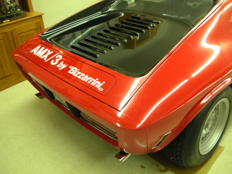 AMC AMX/3 by Bizzarrini