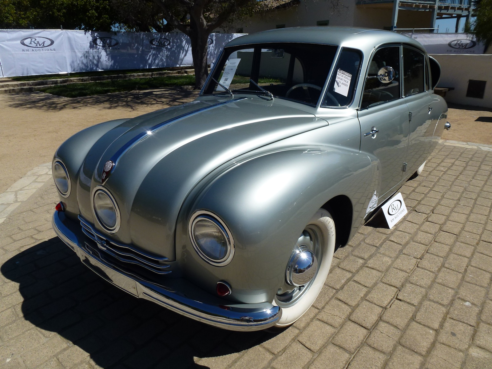 1948 Tatra T87 Limousine Sold At Auction In Monterey
