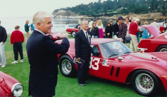 Giotto Bizzarrini and the Ferrari Breadvan at Pebble Beach 1990