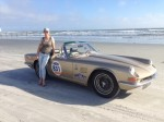 Only A Little Steam From The Engine At Daytona – AC 428 Frua Spider