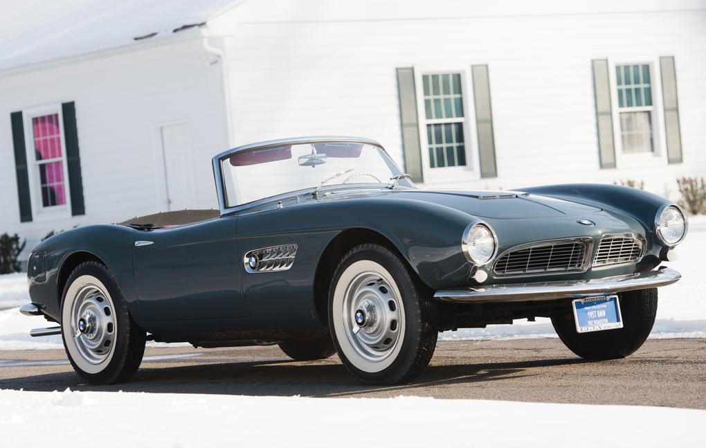 There Is A Huge Price Difference Between The BMW 507 Roadster And ...