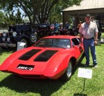 The AMX/3 By Bizzarrini Wins Its Class At Keels And Wheels