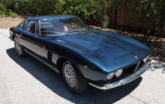 Iso Grifo front angle view