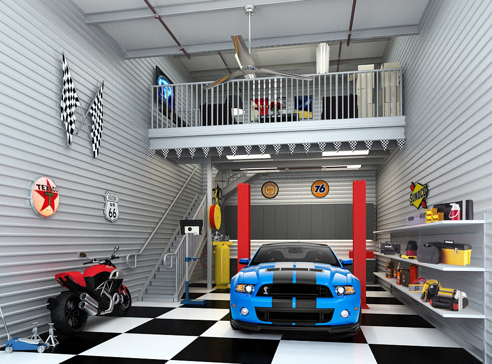 Car storage in monterey at garage unlimited of monterey for Design my garage