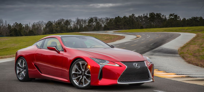 Critiquing The New Lexus LC500