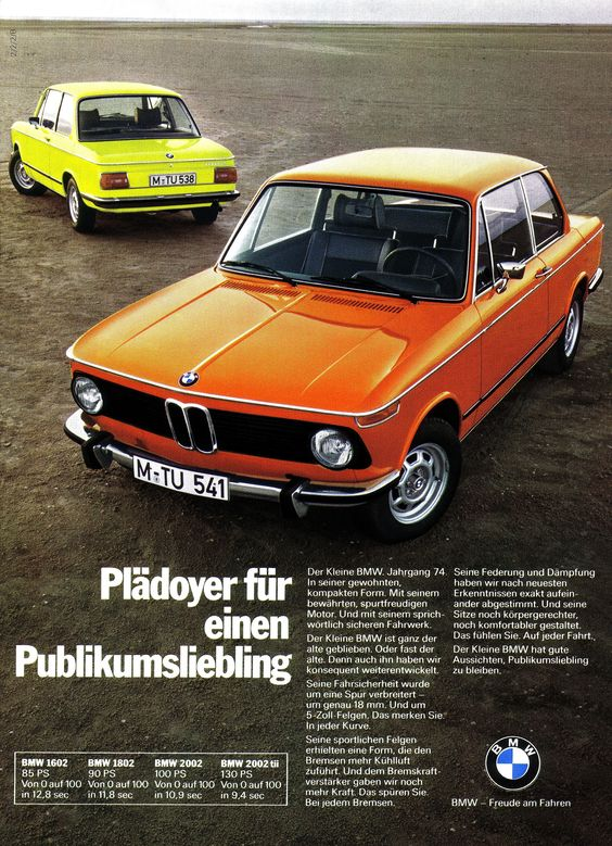 Interesting Collector Cars For Less Than $50k USD-BMW 2002 tii