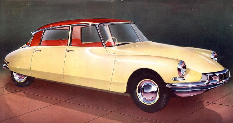 Interesting Collector Cars For Less Than $50k USD-Citroën DS