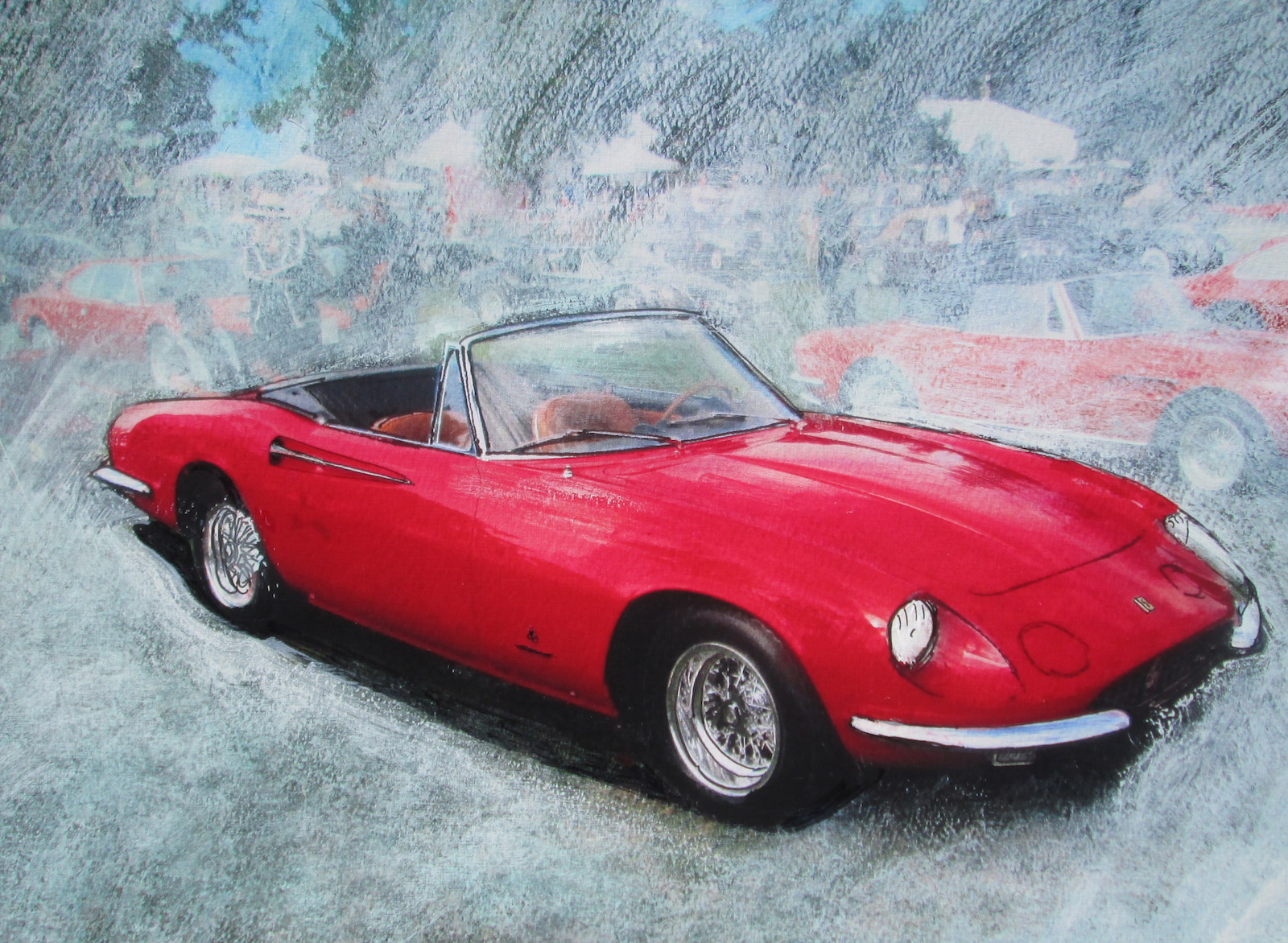 The 1967 Ferrari 365GT California Spyder