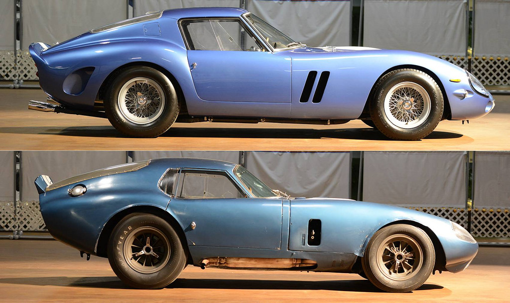 the shelby cobra daytona coupe vs the ferrari 250 gto. Black Bedroom Furniture Sets. Home Design Ideas
