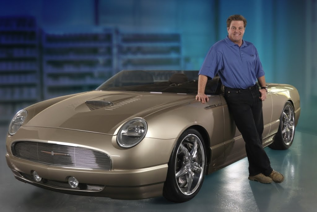 A Factory Hot Rodded Two Seater T-Bird By Chip Foose