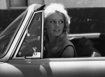 Bridgette Bardot in car