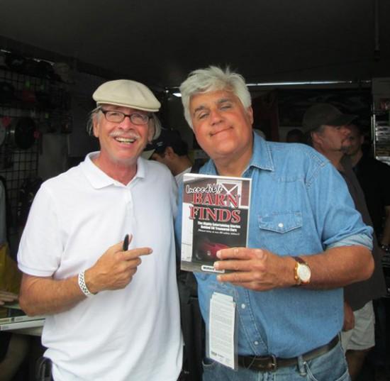 Wallace Wyss and Jay Leno