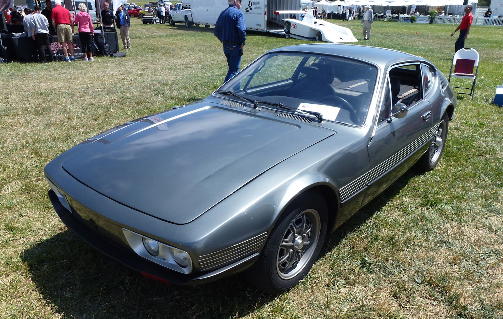 The Volkswagen SP2 - Designed And Made In Brazil