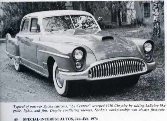 Spohn Custom Cars
