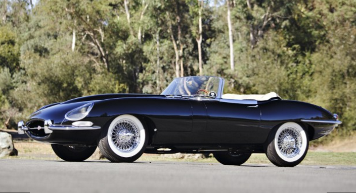 Car Of The Day - Jaguar E-Type Roadster Up For Auction