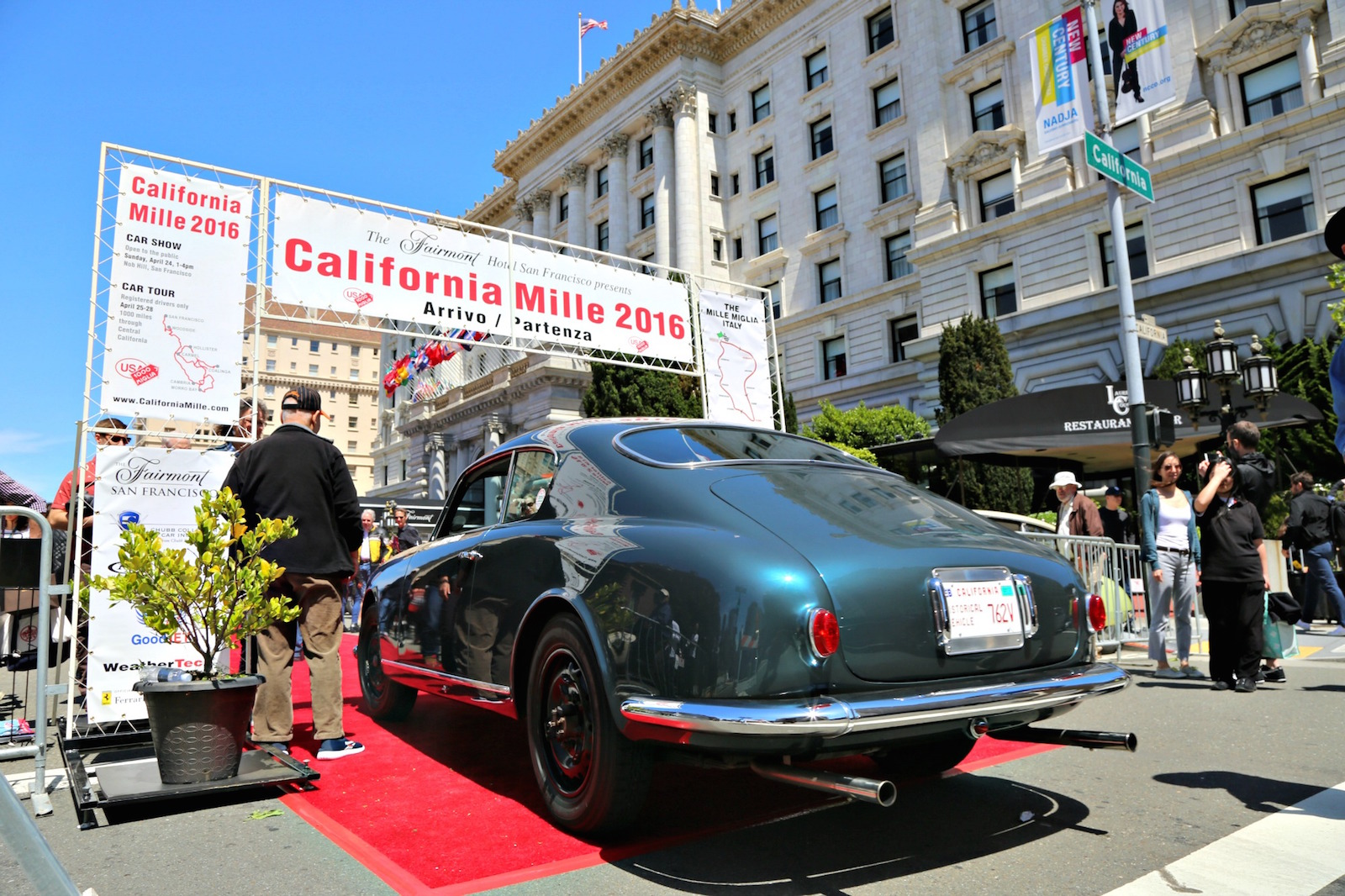 Cars Of The California Mille - 2012 - Part 1