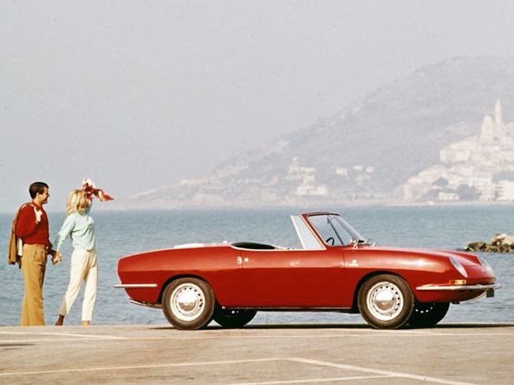 Interesting Collector Cars For Less Than $50k USD-Fiat 850 Spider