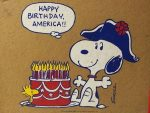 Snoopy Fourth of July